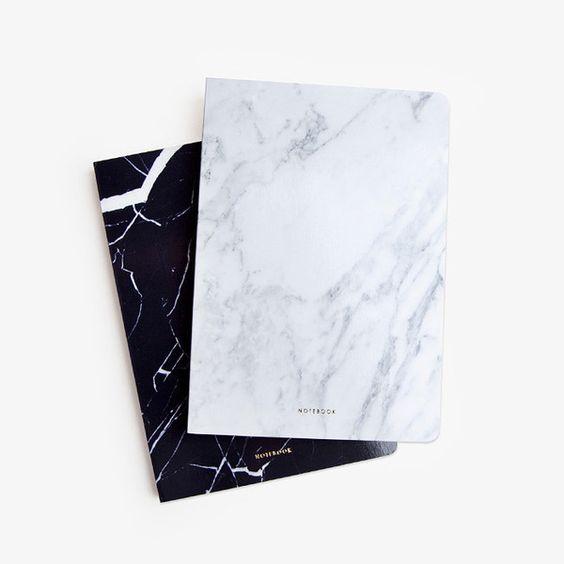 10-mármore-na-decoração-caderno-de-anotação