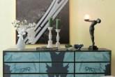 Combinação surpreendente Completa: Sofá, mesa de centro e bufê são da Mo...