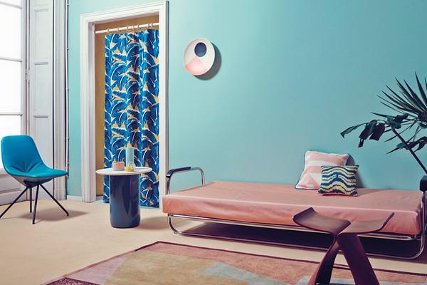 casa-colorida-com-cortina-de-palmeiras