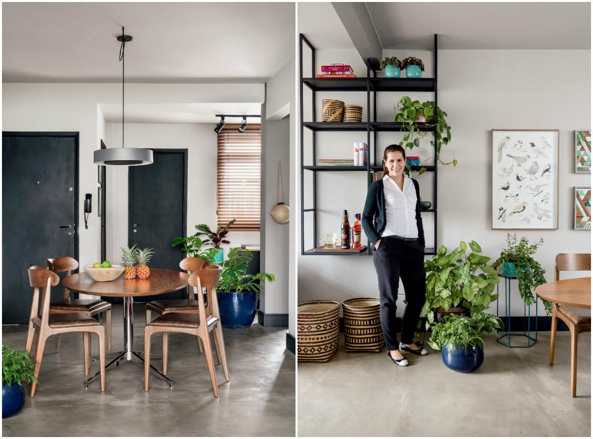 Apartamento com refresco verde