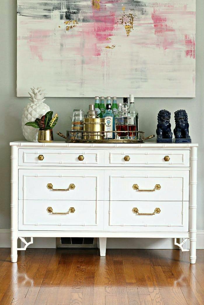 comoda-vintage-branca-e-dourada-bliss-at-home