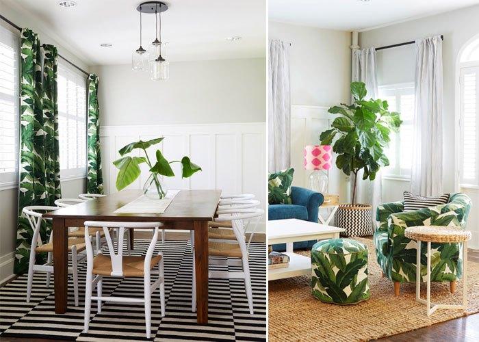 cortina-de-palmeiras-e-poltrona-estampada- Lombardi House