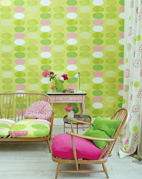 Quem diria que verde e rosa formariam uma dupla tão afinada na decoração? ...