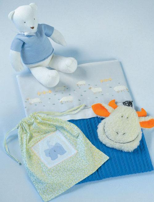 Quem prefere composições sofisticadas vai gostar do lençol Mouton, da Trou...