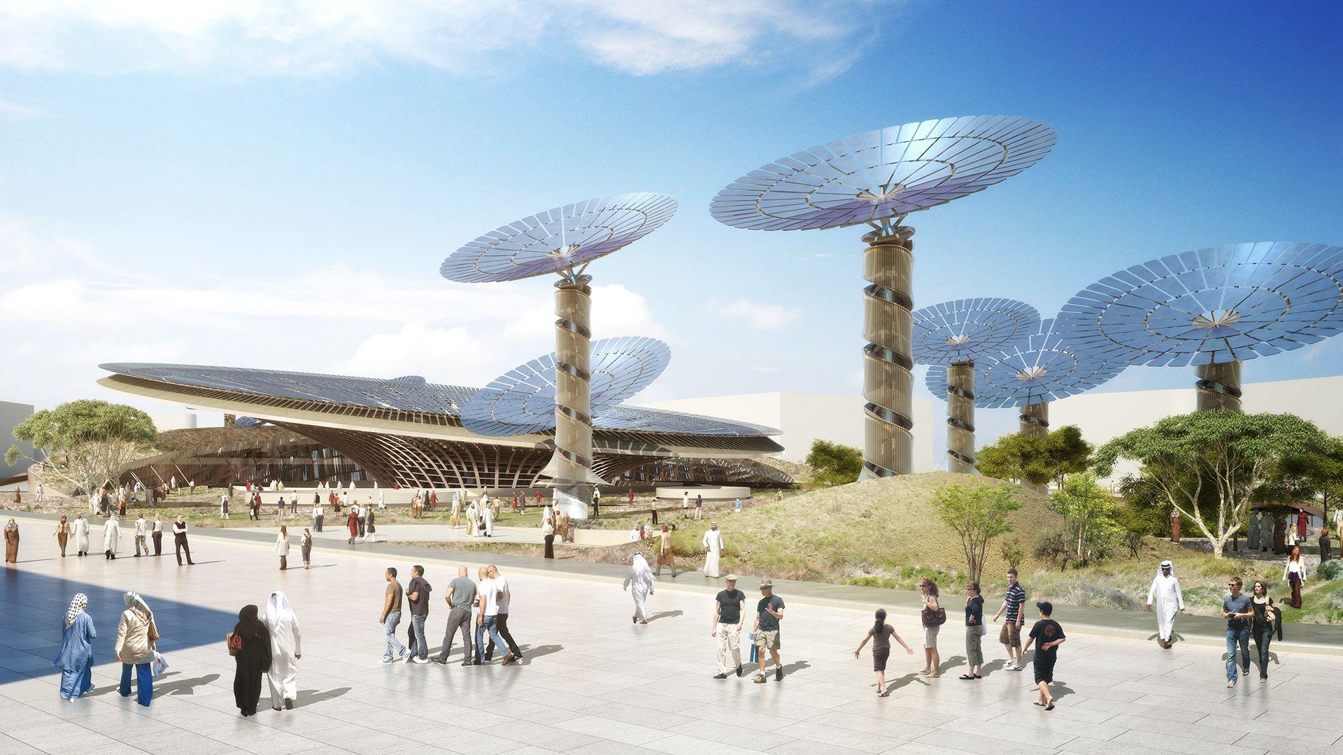 Grimshaw expo-dubai-2020-confira-como-o-projeto-dos-pavilhoes