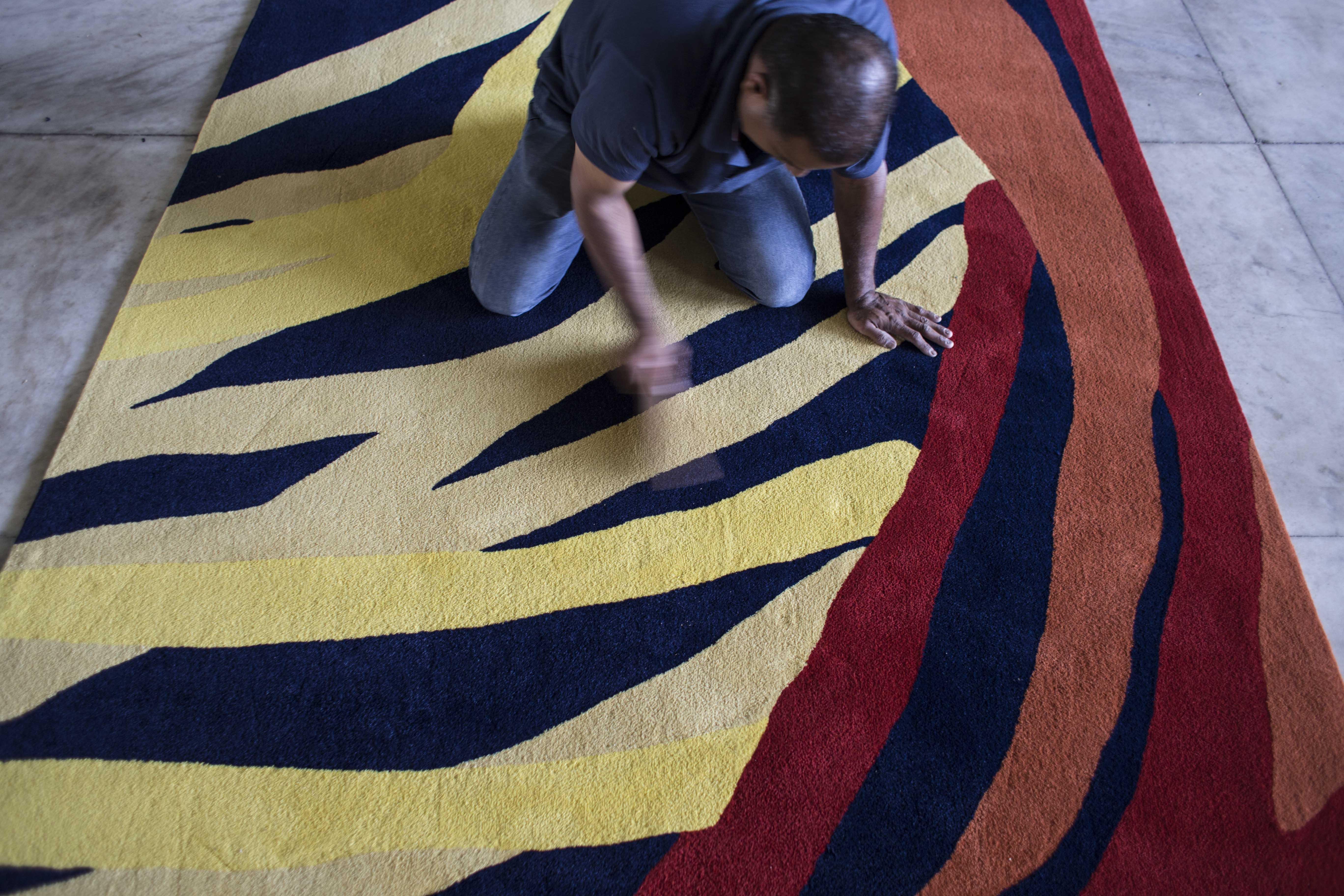 Protótipo da tapeçaria por Daniela Agostini