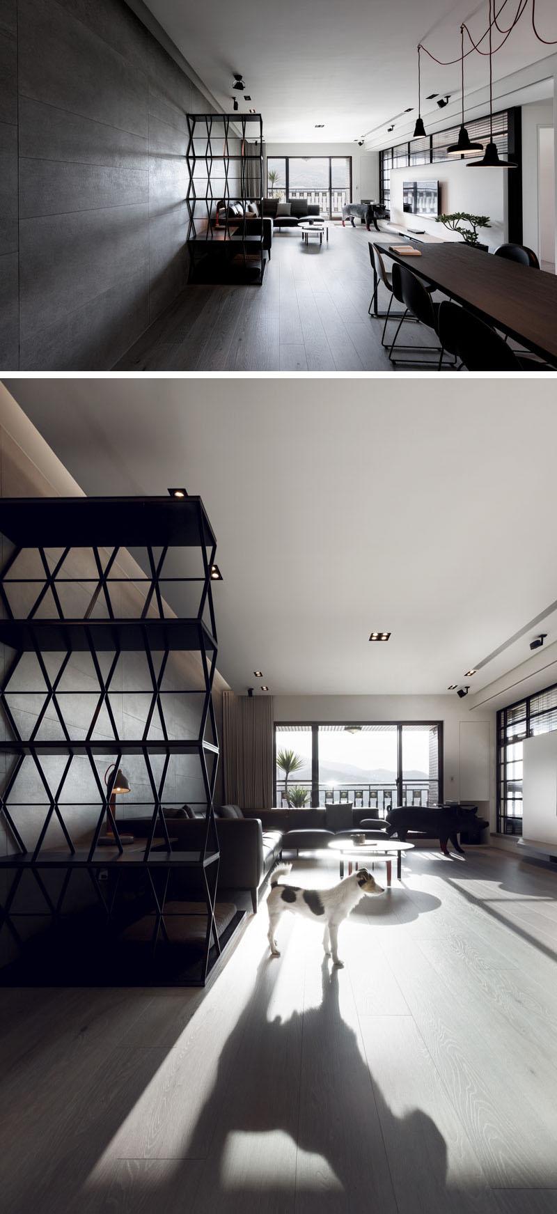 2-movel-integra-cama-para-pet-mesa-e-estante-nesta-sala