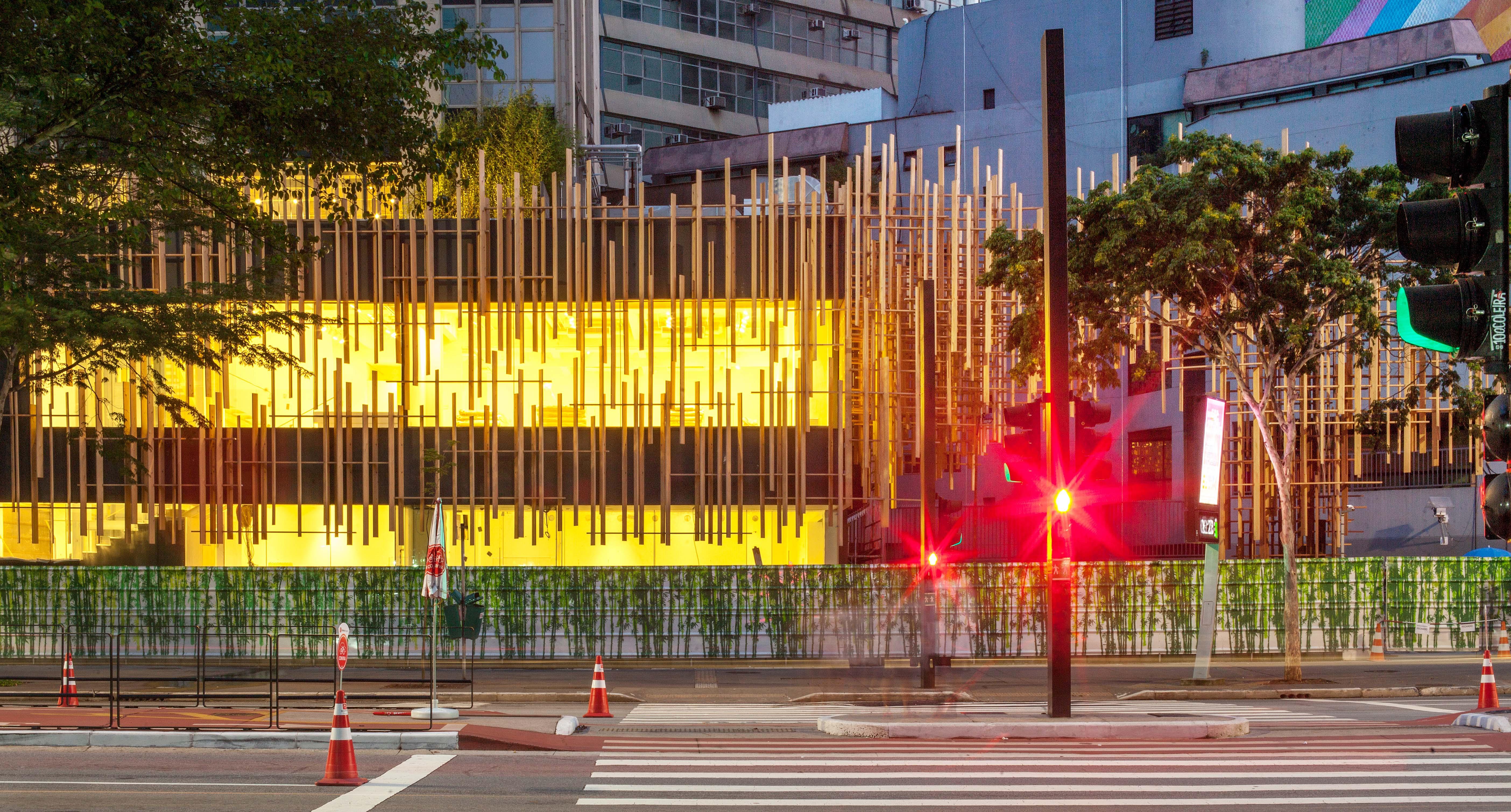 Japan House Confira Os Detalhes Da Fachada Do Edificio Casa Claudia