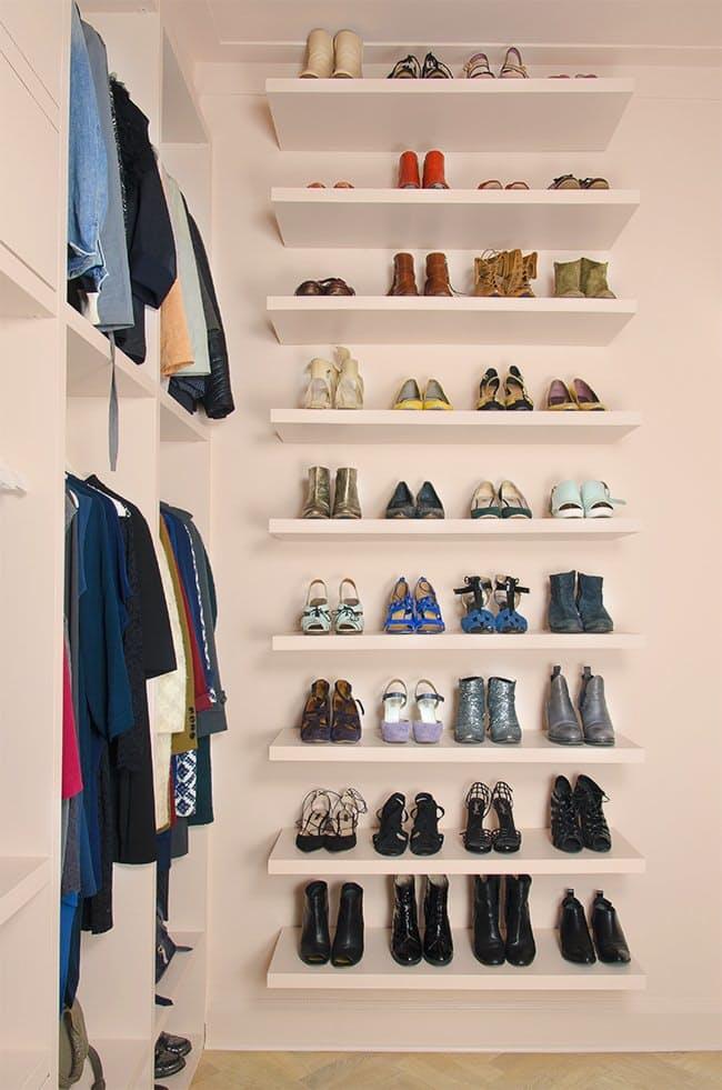 Decoração de quarto sem armário e guarda-roupa
