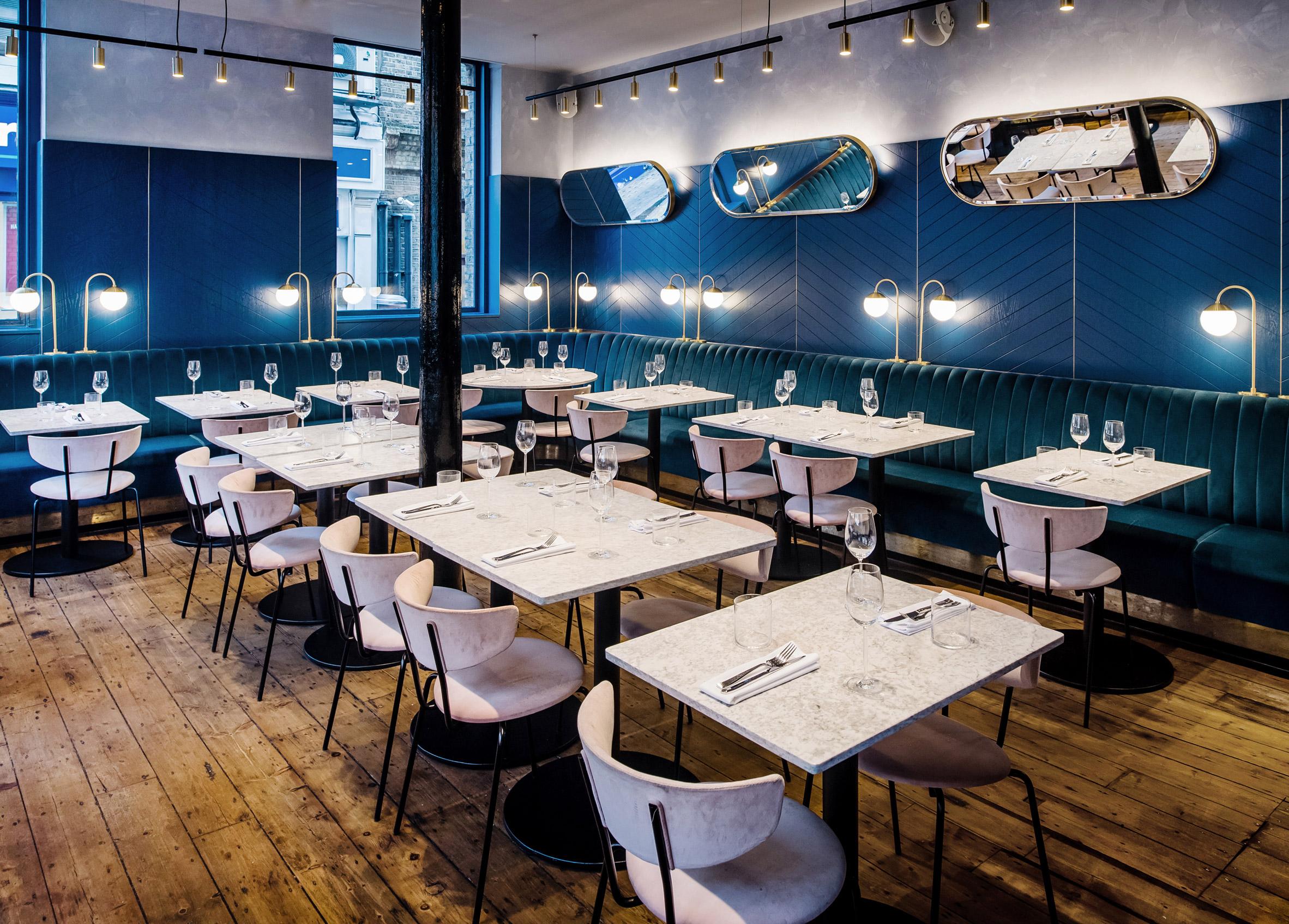 Armazém antigo é transformado em restaurante luxuoso