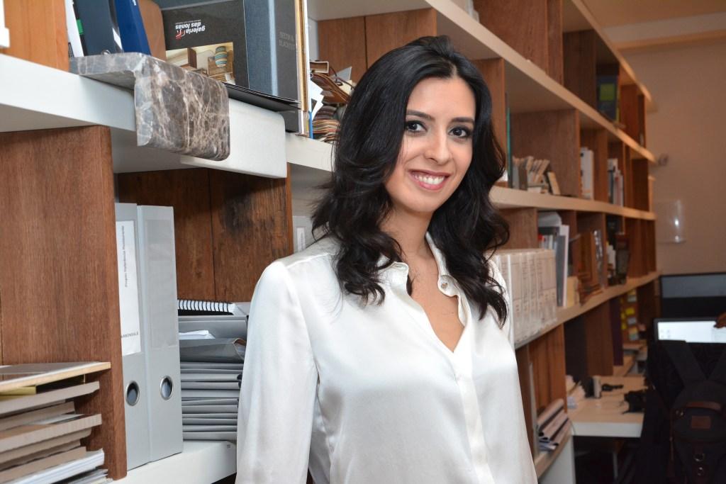 Arquiteta Juliana Cintra do Prado, responsável pela filial brasileira