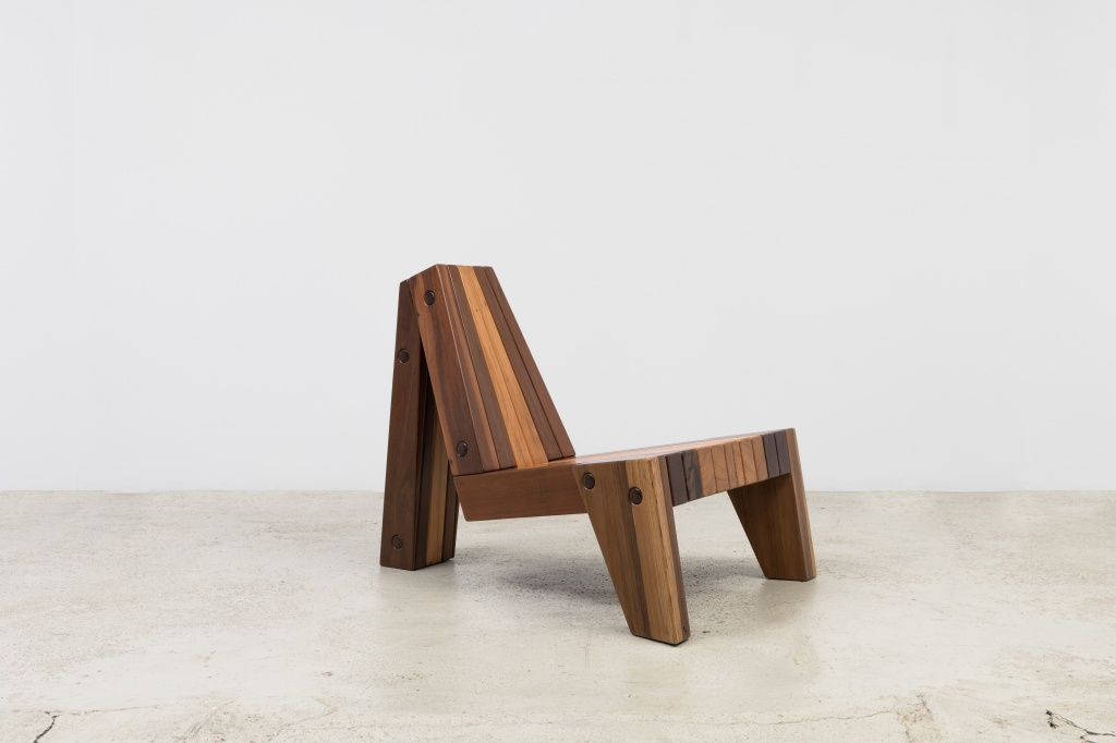Poltrona de madeira de Zanini de Zanine