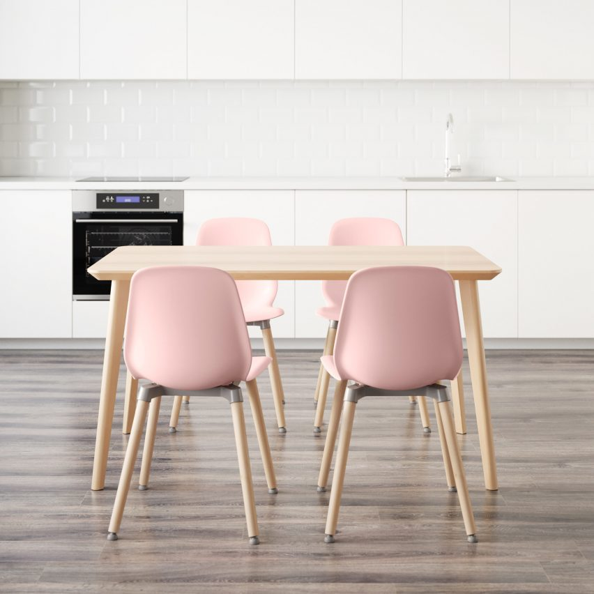 mobília encaixável da IKEA