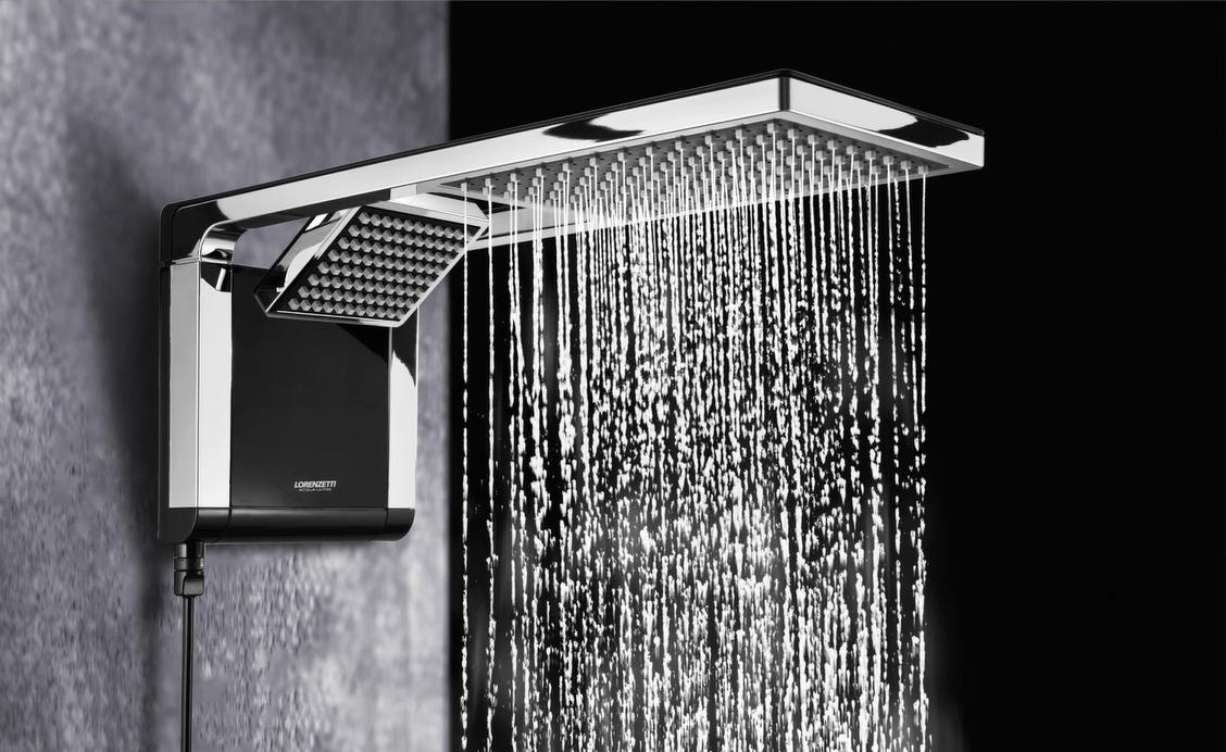 Chuveiro e ducha integrados da Lorenzetti