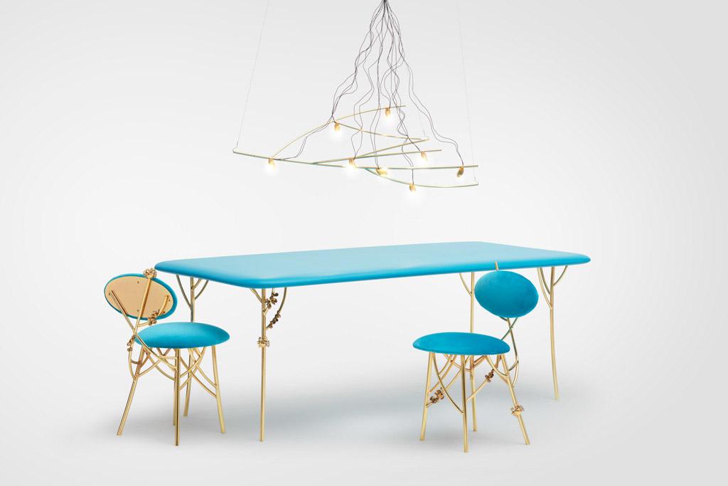 Ary Perez apresenta sua primeira coleção de móveis e objetos