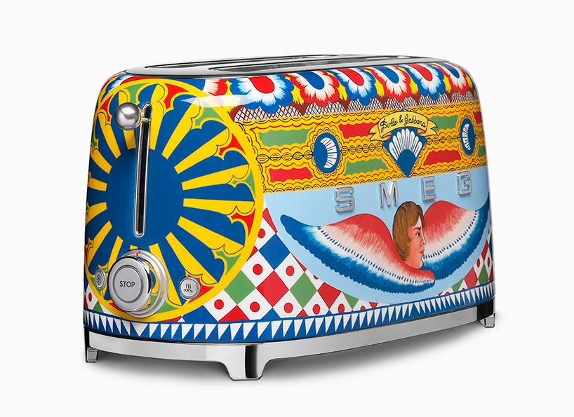 Coleção de eletrodomésticos com tema da Sicília feita pela Dolce & Gabbana e a Smeg para Milão 2017