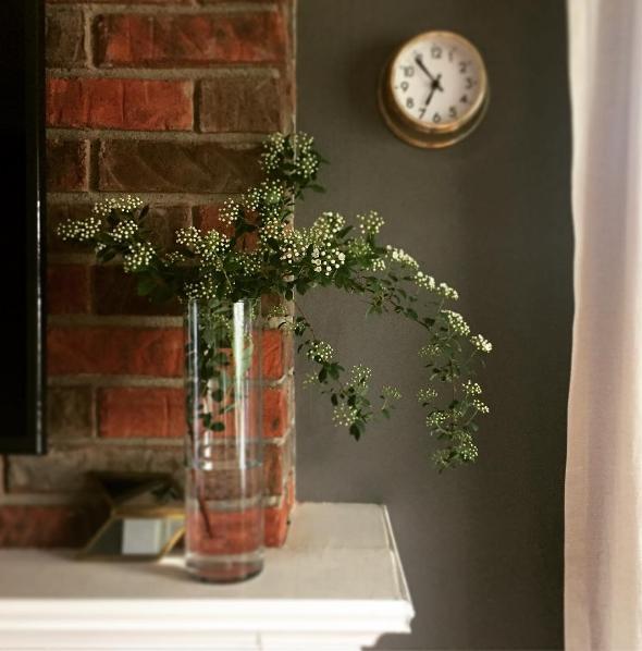Arranjo de flor com Buquê de Noiva/Spiréia