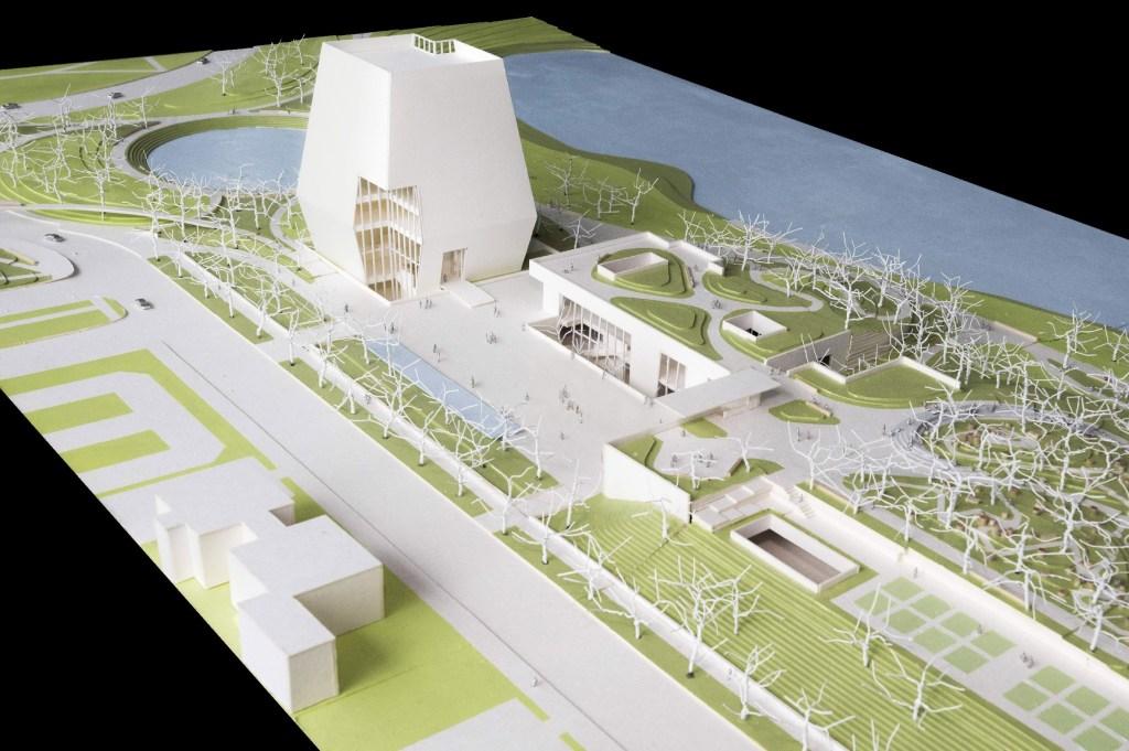 Projetos da biblioteca presidencial do Barack Obama são exibidos pela primeira vez