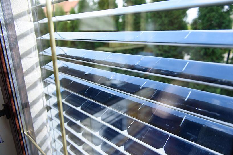 Persianas inteligentes transformam energia solar em elétrica