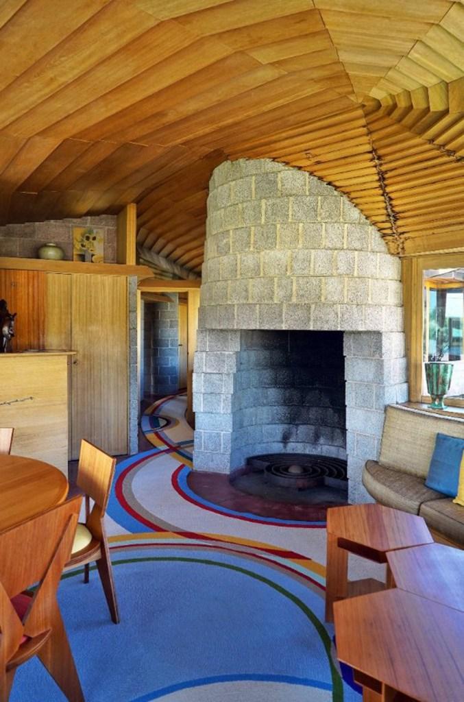 Casa projetada por Frank Lloyd Wright