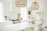 Cozinha sofisticada e toda branca