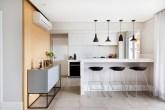 Apartamento de 112 m² assinado pelo escritório GF Projetos