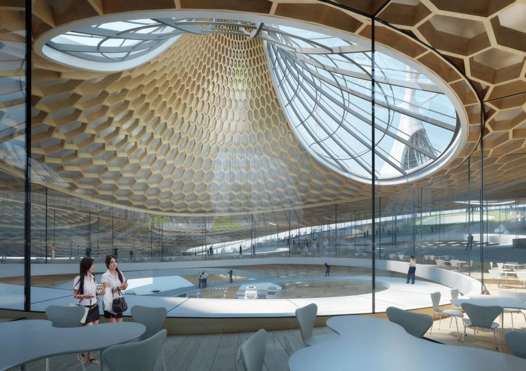 Escritório divulga projeto de terminal aquático ecológico em Seul