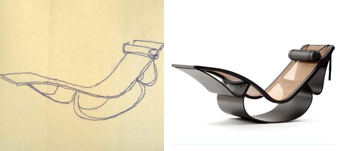 Chaise Rio, de Oscar Niemeyer