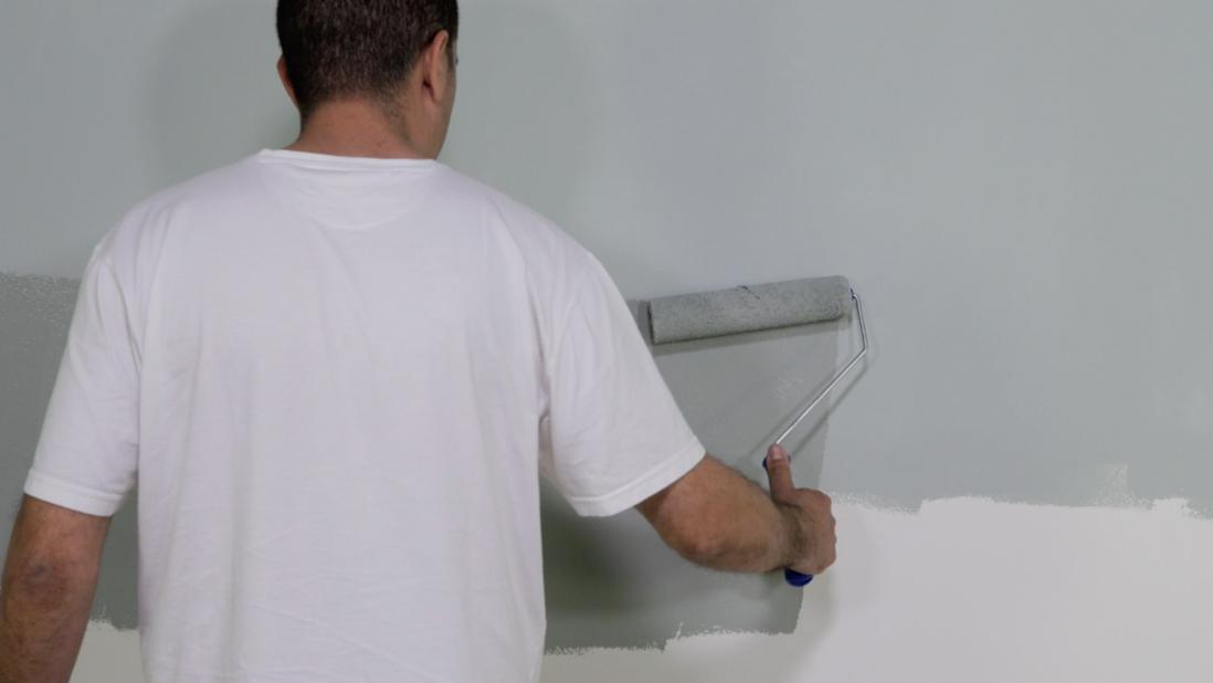 Efeito ombré na parede