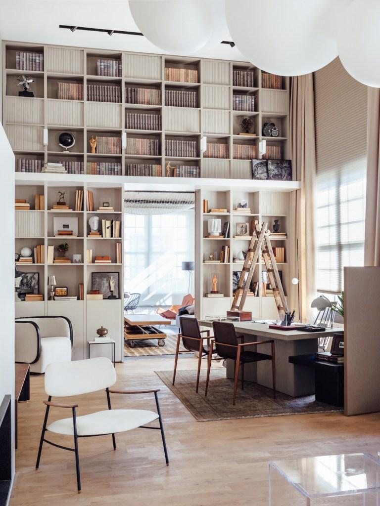 Home office do casal