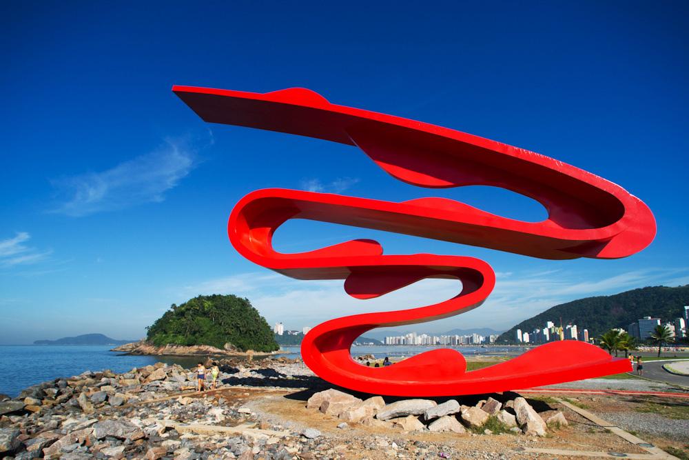 Obra pública de Tomie Ohtake é restaurada em Santos | CASA CLAUDIA