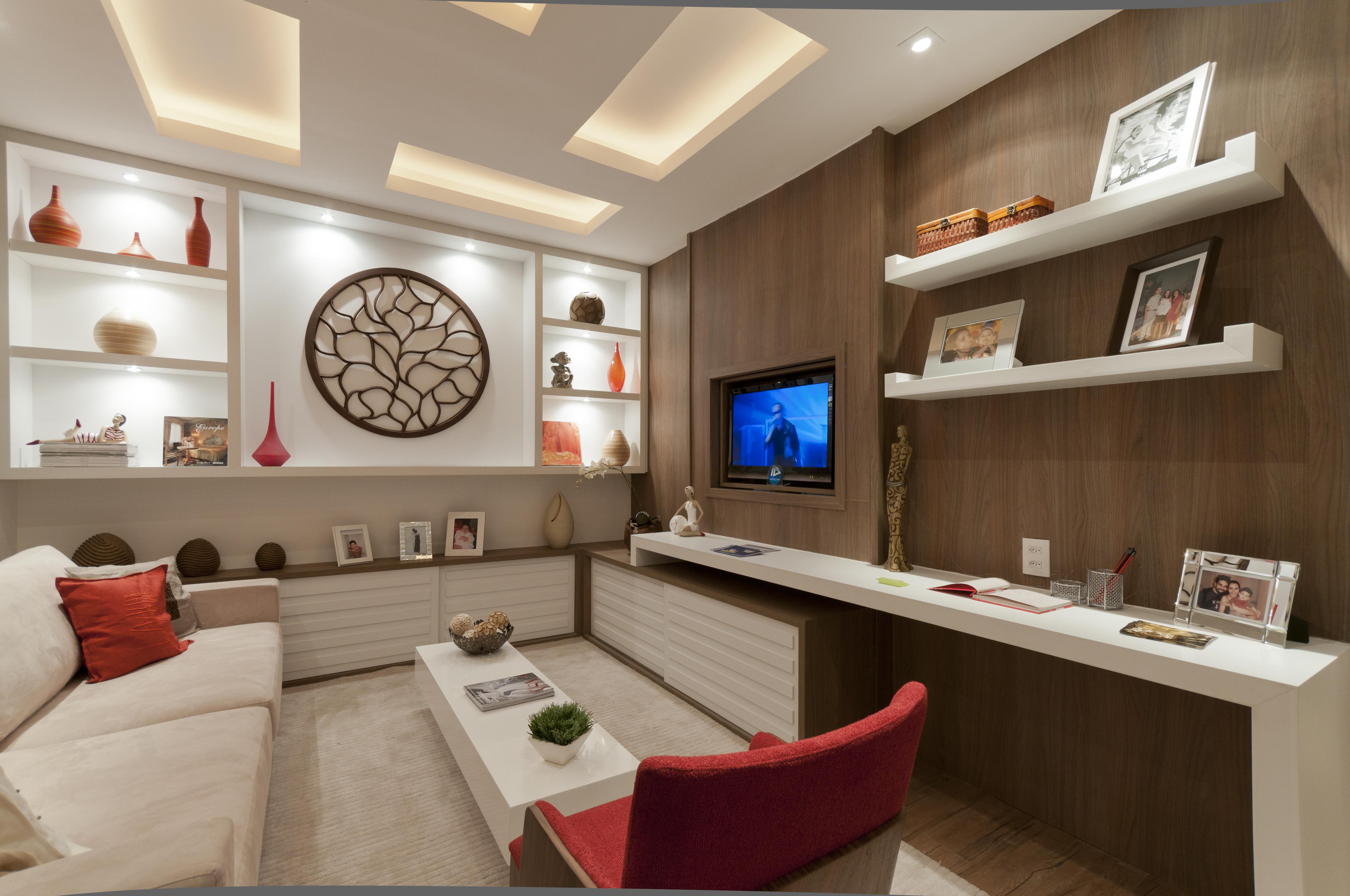 Apê de 35 m² ganha espaço com marcenaria planejada e mais truques
