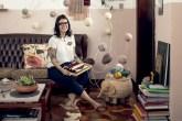 Ana Requião é do tipo de pessoa que levou a sério as aulas de tricô, bordado e tear quea avó e a mãe deram quando criança.