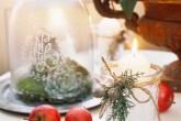 Estes arranjos de Natal são perfeitos para a mesa ou para montar um cantinho temático