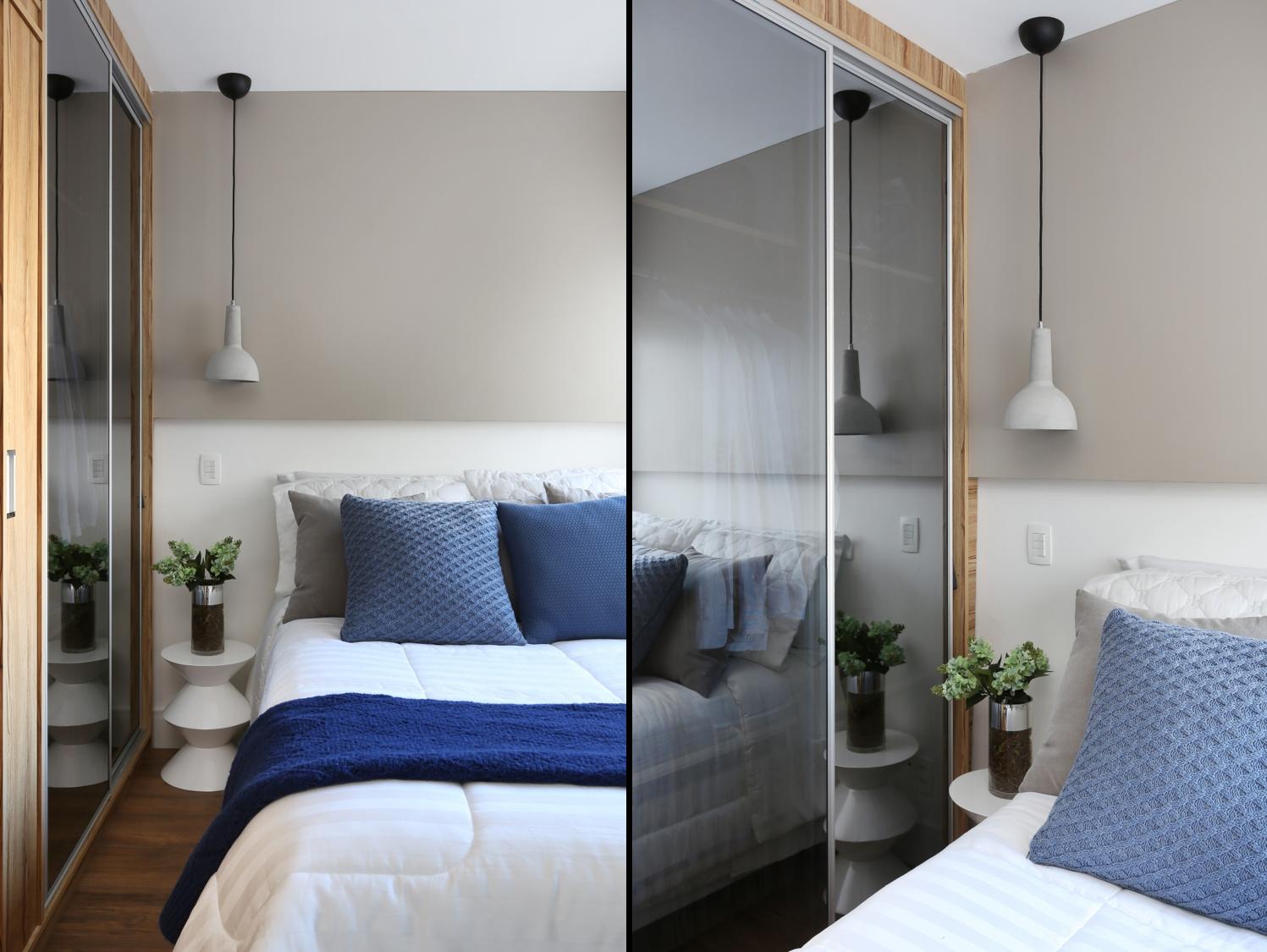 Apê de 37 m² com décor moderno e truques para o espaço render