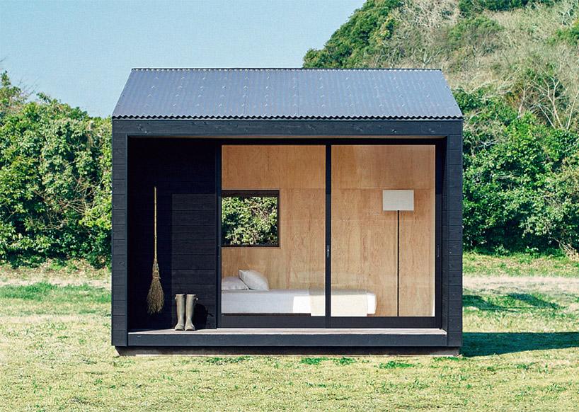 Cabanas minimalistas criadas pela Muji finalmente estão à venda