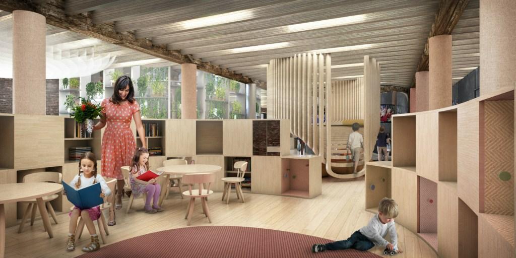 Intitulado WeGrow, o projeto tem um foco especial no desenvolvimento dos alunos e quer redesenhar as salas de aula e os espaços comuns tradicionais.