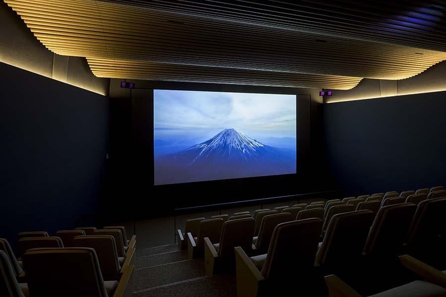 Inaugurado neste mês, o centro celebra o reconhecimento do Monte Fuji como patrimônio mundial da UNESCO