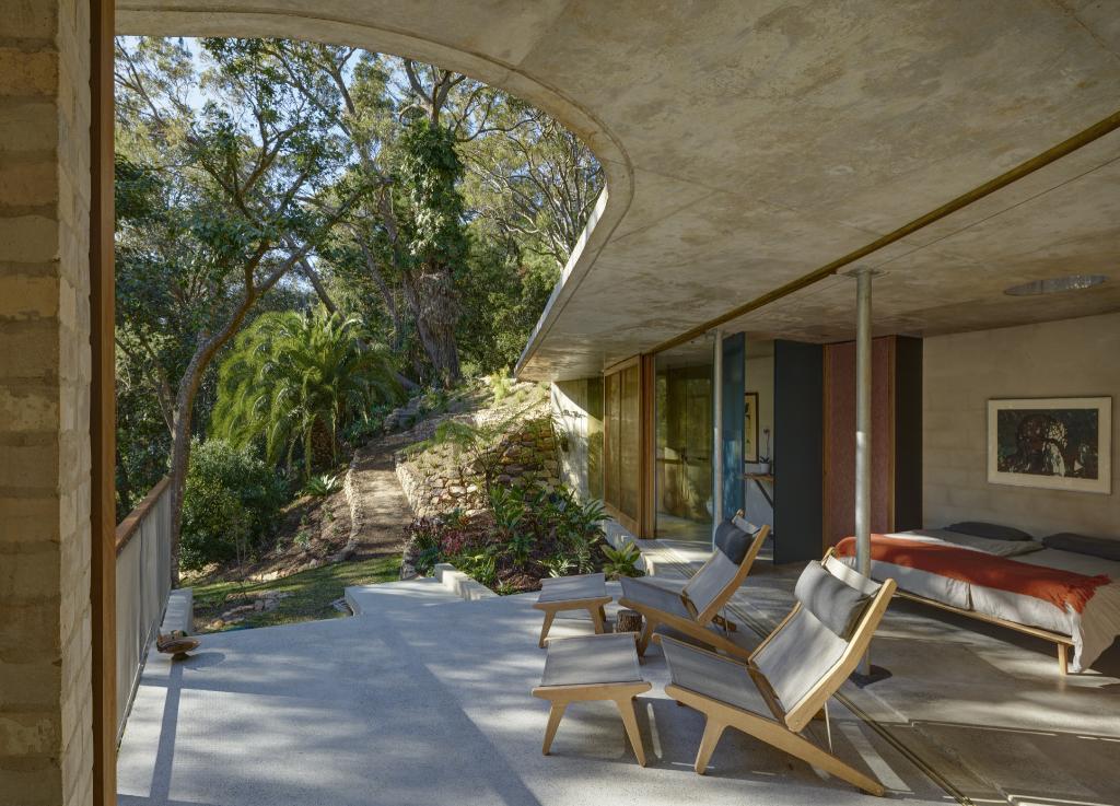 RIBA International Prize 2018: Cabbage Tree House, por Peter Stutchbury Architecture em Bayview, Austrália.