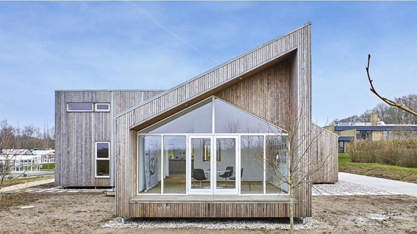 Esta casa foi construída apenas com resíduos agrícolas