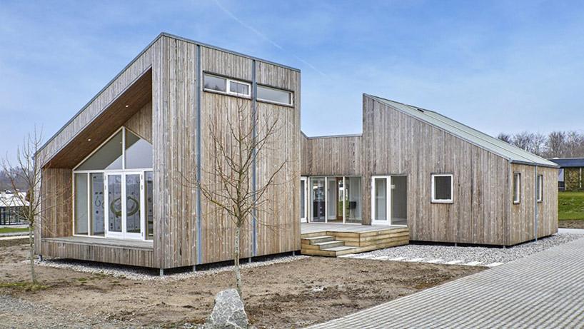 Esta casa foi construída basicamente com resíduos agrícolas