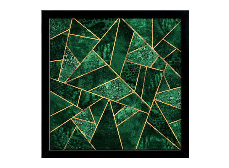O quadro Deep Emerald, da Urban Arts, custa R$ 198.