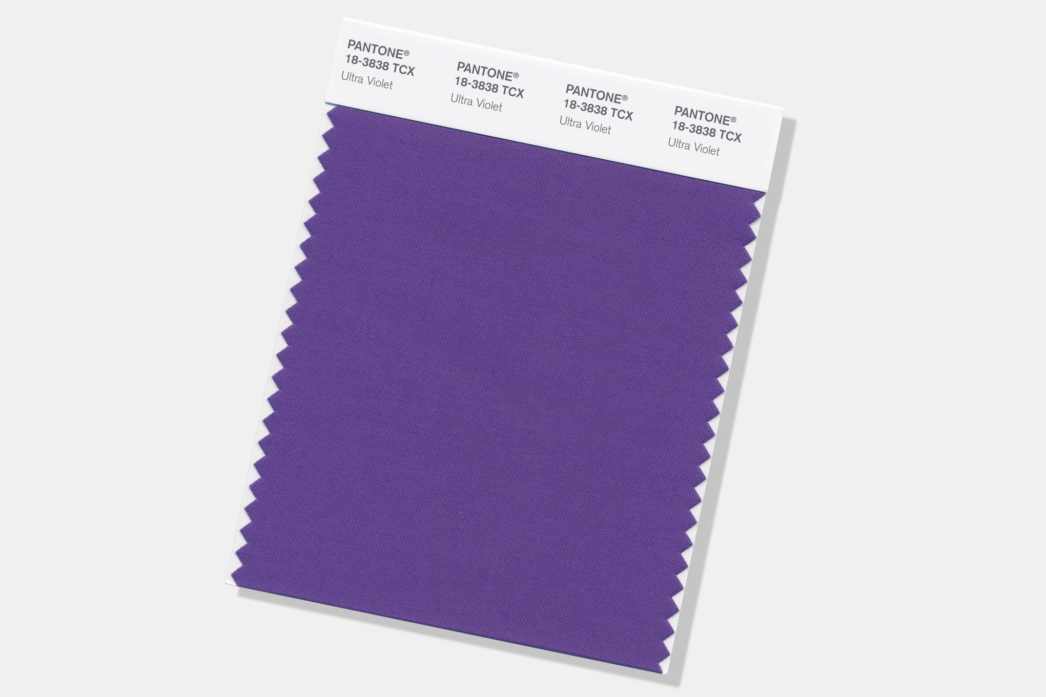 Pantone revela a cor do ano de 2018: Ultra Violet