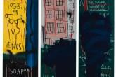 Sem título, 1983. Acrílico e tinta a óleo em bastão sobre tela.