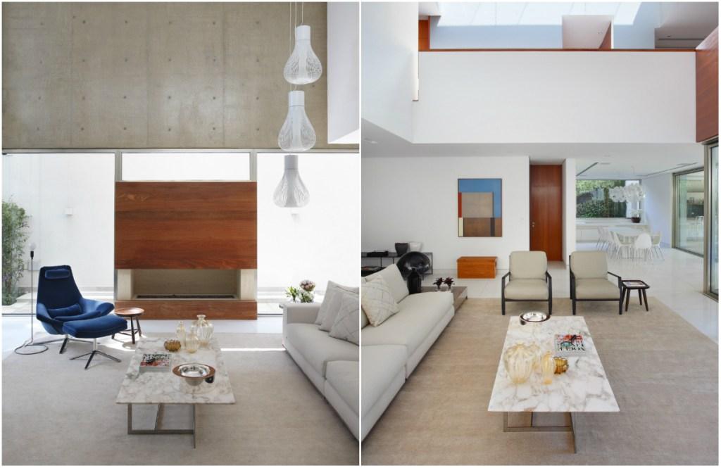 Interior e exterior se misturam nesta casa paulistana