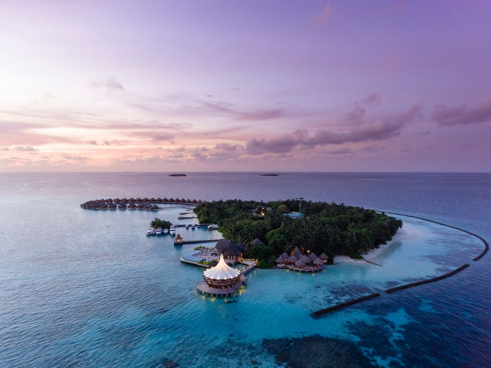 Baros, nas Maldivas: o hotel mais romântico.