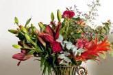 Arranjo de flor tropical