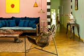 Casa em Trancoso com décor artsy tropical