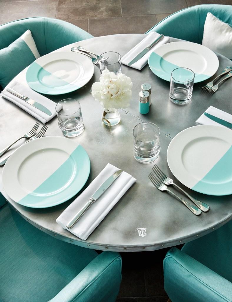 Blue Box Cafe Tiffany