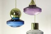 Luminárias da coleção Lily, de Martin Huxford.